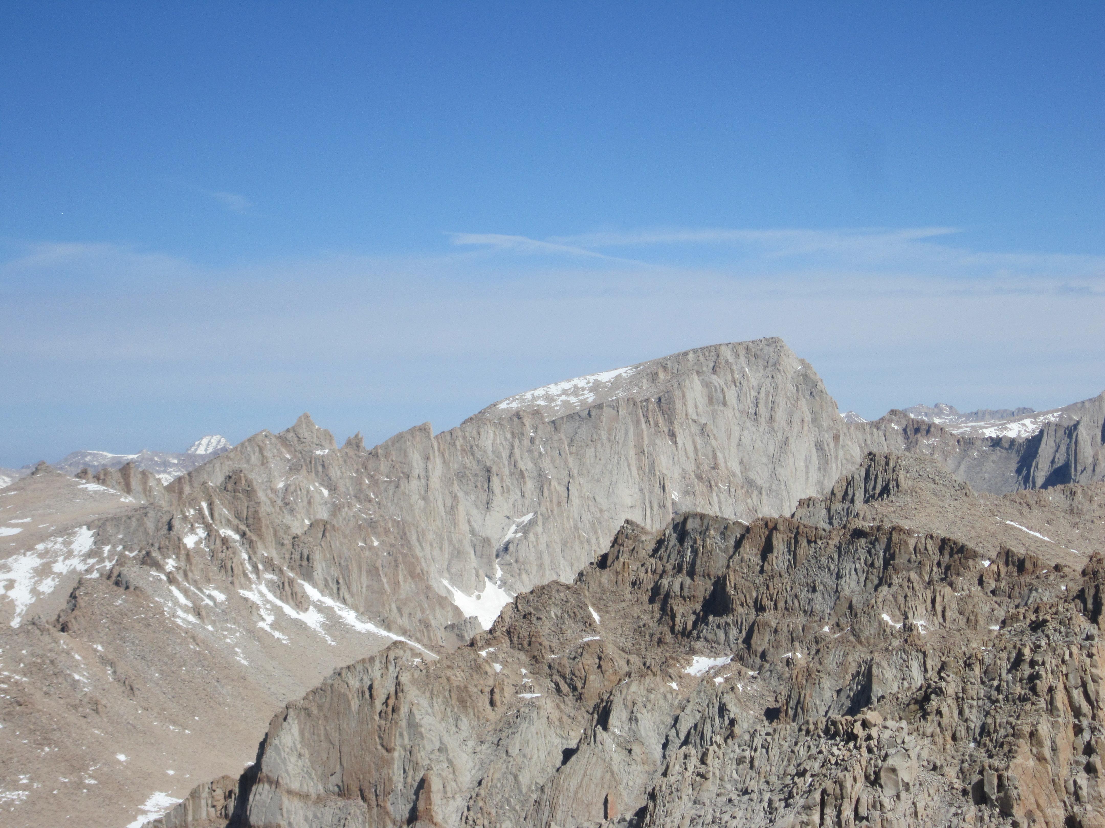 climbing california s 14ers mt langley 14 026 ft. Black Bedroom Furniture Sets. Home Design Ideas