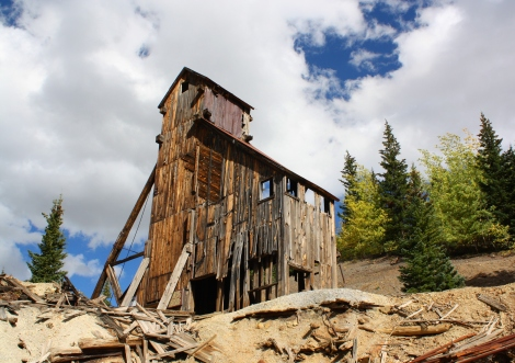 the Yankee Girl Mine- Red Mountain mining district