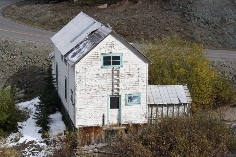 miners quarters- Red Mountain mining district