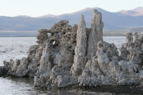 some windows in the tufa- Mono Lake