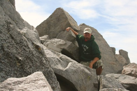 me on the summit of Mt. Lyell- 13,114 ft.