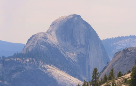 Half Dome, as seen from Olmstead Point. Yosemite