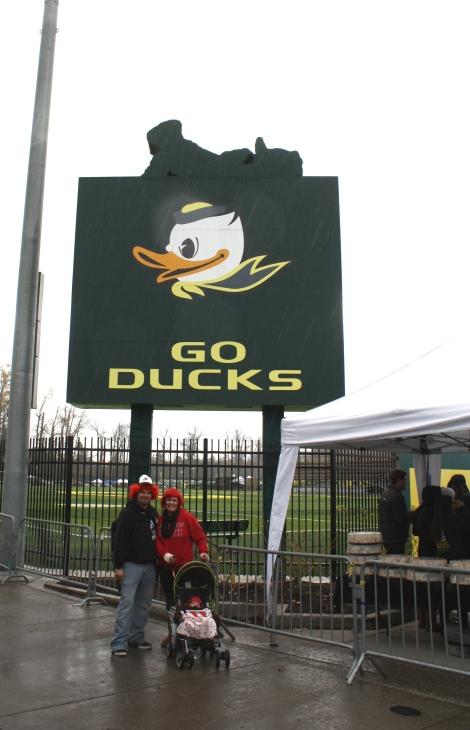 us under the goofy Ducks logo- Autzen