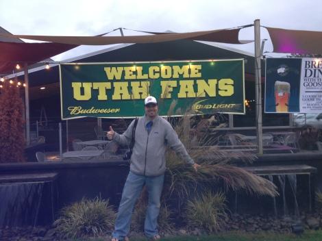 Oregon hospitality welcomes us