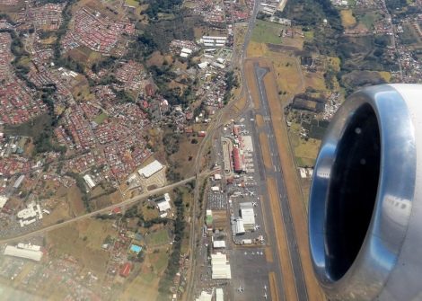 flying into Juan Santamaria Intl. Airport- San Jose, Costa Rica