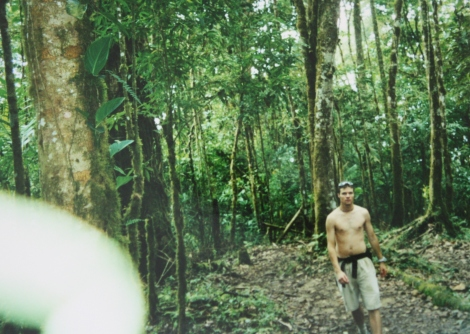 hiking through the rainforests of Chirripo National Park