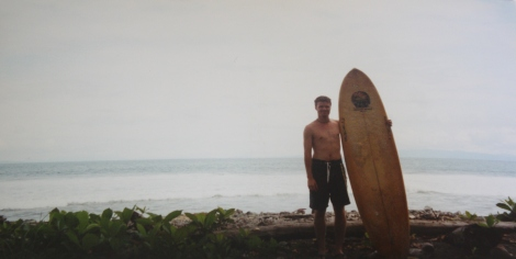 me about to hit the waves at Pavones