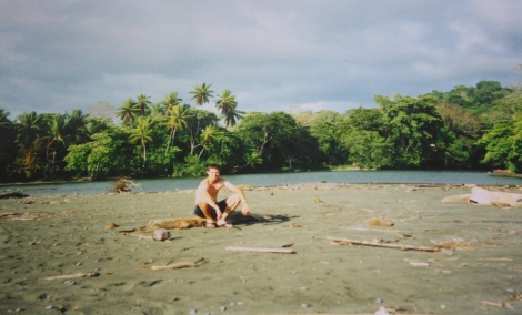 me at Pavones, Costa Rica