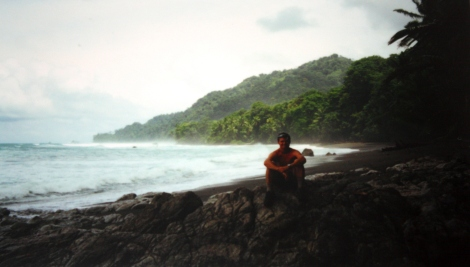 me on the Corcovado coast