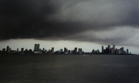 storm over Panama City