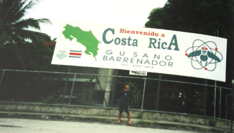 me at Paso Canoas- Costa Rica
