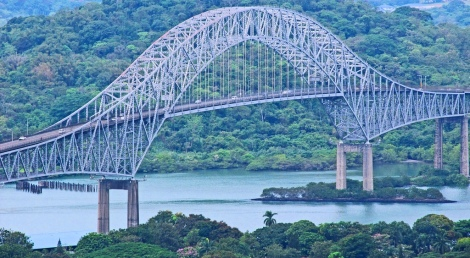 the Bridge of the Americas