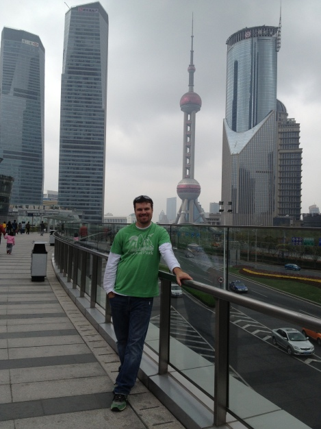 me in Pudong- Shanghai