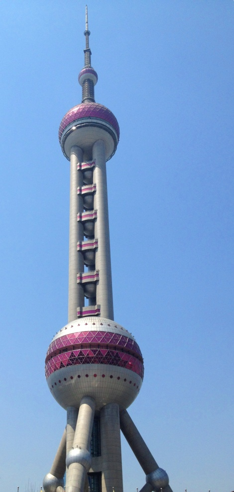 time to go up that...! Oriental Pearl Tower
