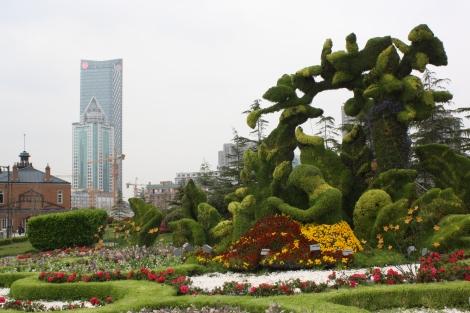 Shanghai piece of greenery