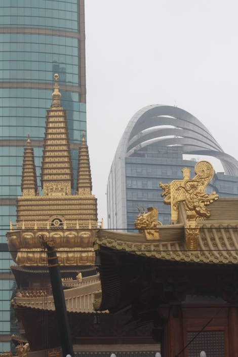 Jing'an Temple spires
