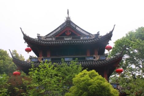temple- Nanking Hill. West Lake