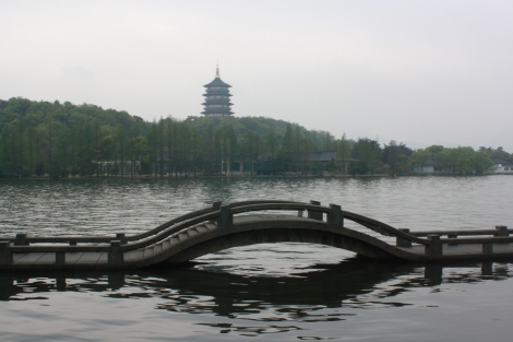 peaceful West Lake scene