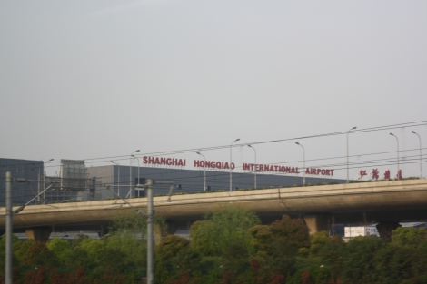 Shanghai's other major airport (along with Pudong Airport)