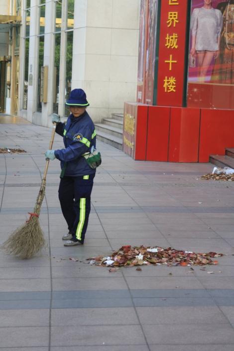 street sweeper- Shanghai