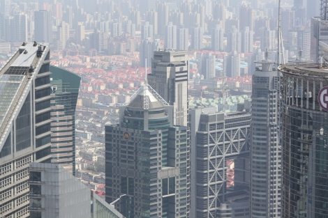 a massive city to house masses of people- Shanghai